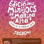 XII EDICIÓ MINIJOCS DE LA MARINA ALTA. 19, 20 I 21 DE MAIG DE 2017.