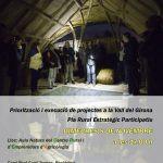 IV JORNADA DE PARTICIPACIÓ CIUTADANA A LA RECTORIA. 8 de Novembre a les 17:00h a l´Aula Natura del centre AGRICOLOGIA.