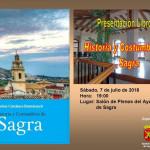 PRESENTACIÓN DEL LIBRO «HISTORIA Y COSTUMBRES DE SAGRA», de Carlos Cardona Doménech.