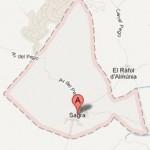 Mapa de Sagra