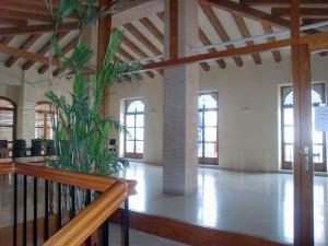 Imagen de la Sala de Plenario del Ayuntamiento de Sagra