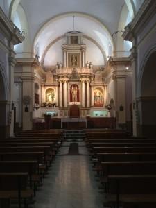 Imagen del Altar Mayor