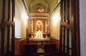 Imagen de la Capilla de la Comunión